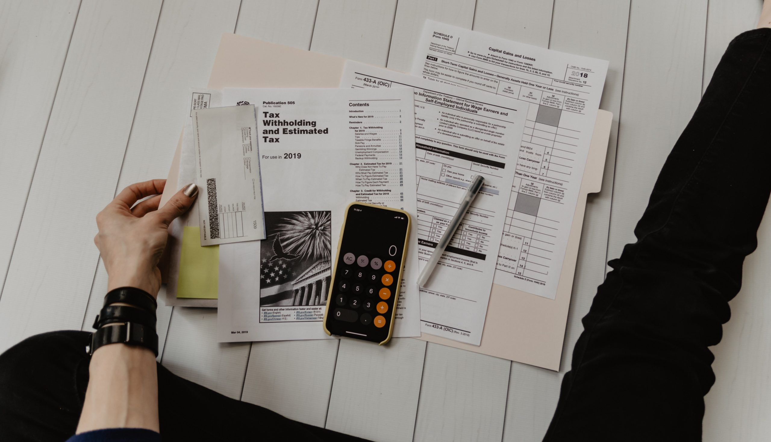 Getting accounts ready for tax time