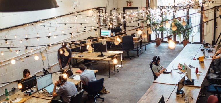 Freelancers hot desking