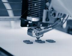 A 3D printer in progress